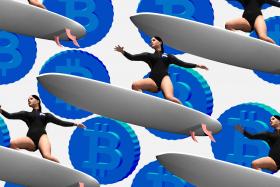 Серфинг за биткоины